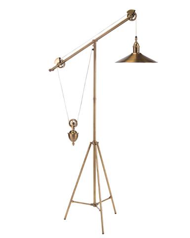 John Richard Collection - Pulley Task Floor Lamp - JRL-9181