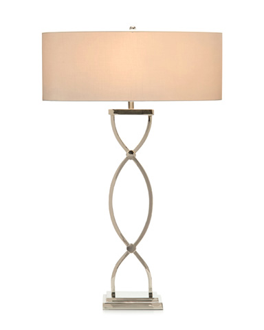 Image of Nickel Braid Table Lamp