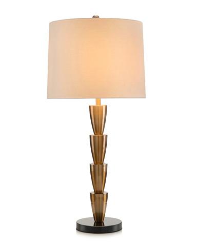 John Richard Collection - Antique Brass Table Lamp - JRL-9194