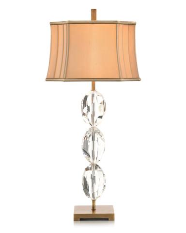 John Richard Collection - Stacked Crystal Eggs Table Lamp - JRL-9201