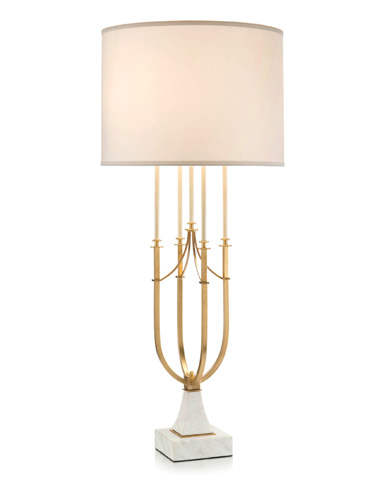 John Richard Collection - Candlestick Centerpiece Table Lamp - JRL-9202