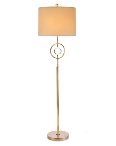 John Richard Collection - Crystal Globe Floor Lamp - JRL-9203