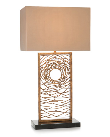 John Richard Collection - Gold Vortex Table Lamp - JRL-9217