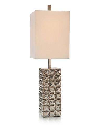 John Richard Collection - Silver Pillow Table Lamp - JRL-9224