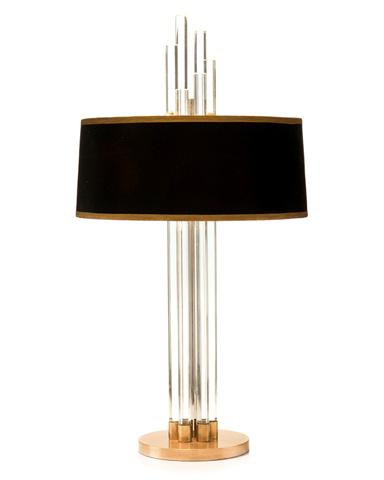 John Richard Collection - Graduating Crystal Table Lamp - JRL-9225