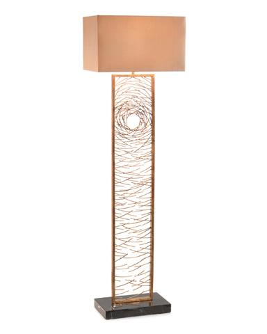 John Richard Collection - Gold Vortex Floor Lamp - JRL-9226