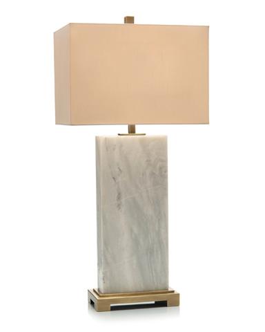 John Richard Collection - Marble Slab Table Lamp - JRL-9228