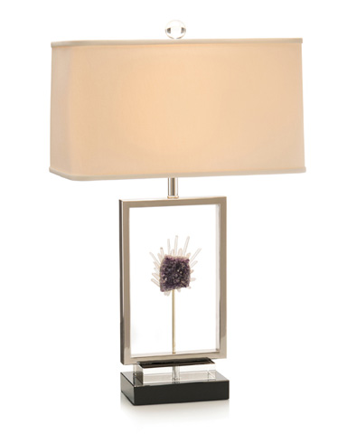 John Richard Collection - Crystal Window Table Lamp - JRL-9245