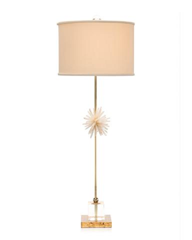 John Richard Collection - Crystal and Brass Buffet Lamp - JRL-9248