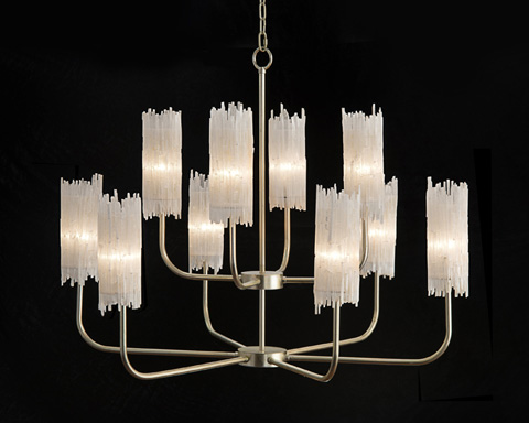 John Richard Collection - Natural Selenite Chandelier - AJC-8874