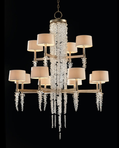 John Richard Collection - Cascading Crystal Waterfall Chandelier - AJC-8884