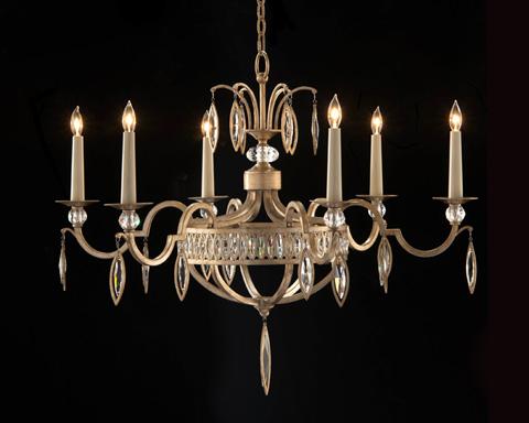 John Richard Collection - Marquis Six Light Chandelier - AJC-8888