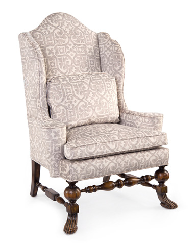 John Richard Collection - Viloa-Rica Wing Chair - AMF-1104V18-1026-AS