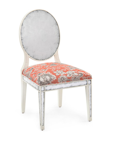 John Richard Collection - Eglomise Dining Side Chair - AMF-1113V62-3001-AS