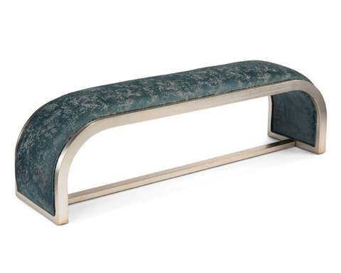 John Richard Collection - Aintree Curved Bench - AMF-1344-2051-AS