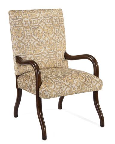 John Richard Collection - Meruer Jupiter Finish Arm Chair - AMF-1346-1041-AS