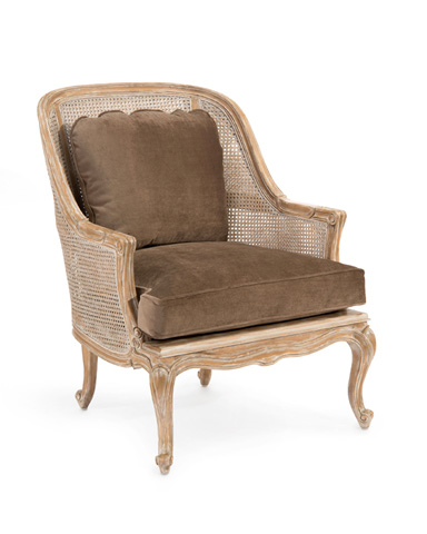 John Richard Collection - Cane Back Bergere Chair - AMF-1351-1035-AS