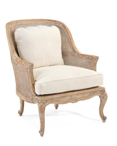 John Richard Collection - Cane Back Bergere Chair - AMF-1351-C380-AS
