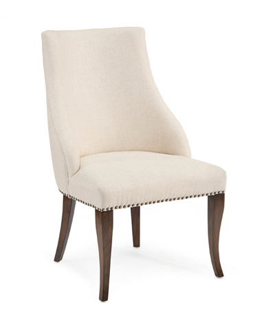 John Richard Collection - Parisien Slipper Style Dining Chair - AMF-1353-1005-AS
