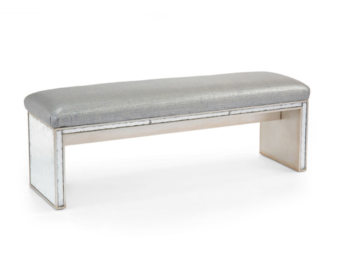 John Richard Collection - Eglomise Parson's Bench - AMF-1355-2045-AS