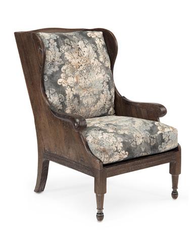 John Richard Collection - Scandinavian Wing Chair - AMF-1356-2049-AS