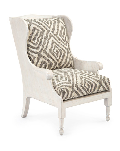 John Richard Collection - Scandinavian Wing Chair - AMF-1357-2052-AS