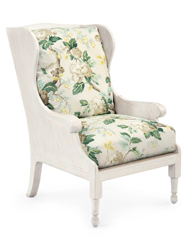 John Richard Collection - Scandinavian Wing Chair - AMF-1357-2058-AS