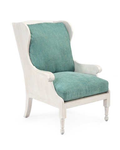 John Richard Collection - Scandinavian Wing Chair - AMF-1357-C388-AS
