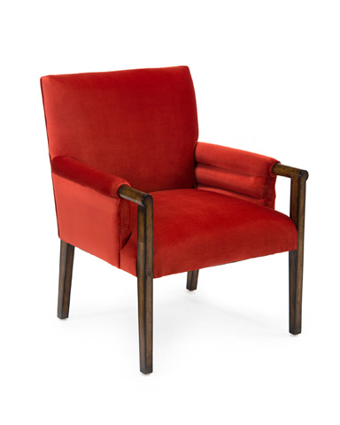 John Richard Collection - Londres Mid-Century Pull Up Chair - AMF-1359-1045-AS