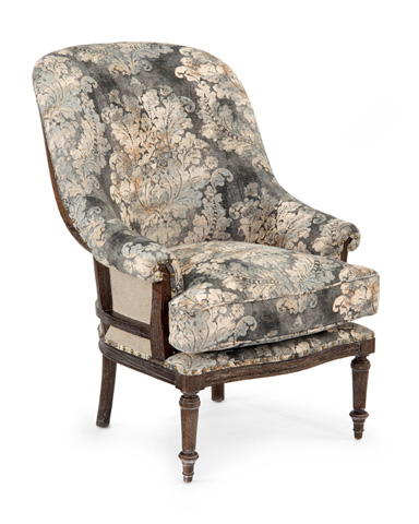 John Richard Collection - Fanback Exposed Wood Chair - AMF-1363-2049-AS