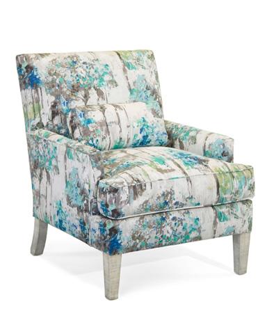 John Richard Collection - Track Arm Chair - AMQ-1101Q04-2048-AS
