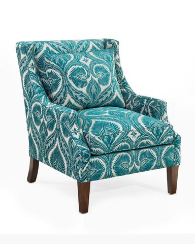 John Richard Collection - Scoop Arm Chair - AMQ-1103Q01-2047-AS