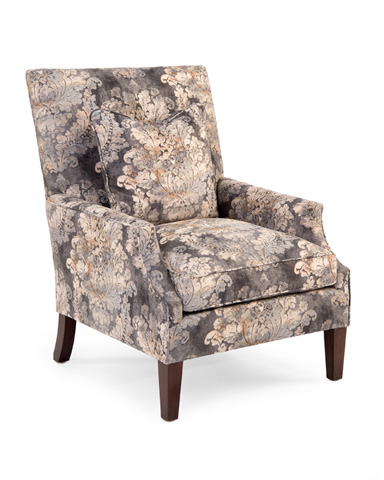 John Richard Collection - High Back Scoop Arm Club Chair - AMQ-1112Q01-2049-AS