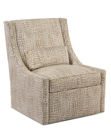 John Richard Collection - High Back Swivel Club Chair - AMQ-1113-2046-AS