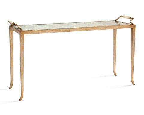 John Richard Collection - Eglomise Sofa Table - EUR-02-0235
