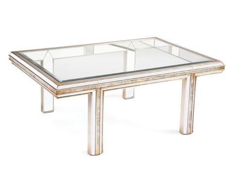 John Richard Collection - Sanibel Cocktail Table - EUR-03-0532