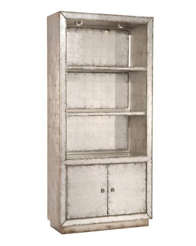 John Richard Collection - Eglomise Lit Disply Cabinet - EUR-04-0341