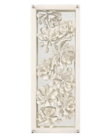 John Richard Collection - Ivory Succulents III - GBG-1215C