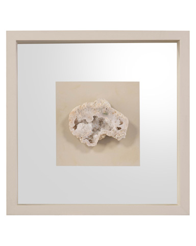 John Richard Collection - Geodes White I - GBG-1229A