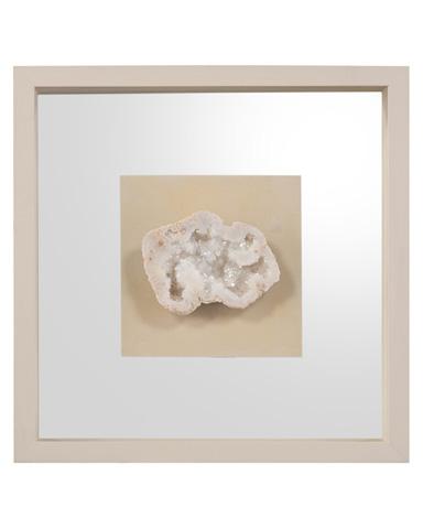 John Richard Collection - Geodes White IV - GBG-1229D