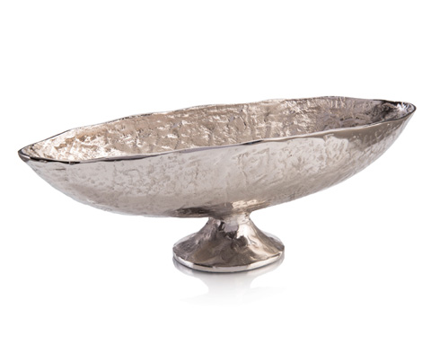 John Richard Collection - Silver Oval Urn - JRA-10062
