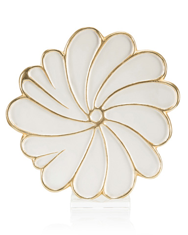 John Richard Collection - Swirling Petals Charger - JRA-10115