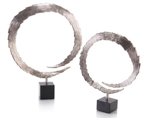 John Richard Collection - 2 Blazes Of Light In Nickel - JRA-10133S2