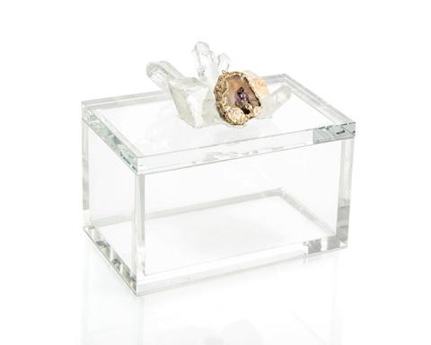 John Richard Collection - Crystal and Lemon Box - JRA-10152
