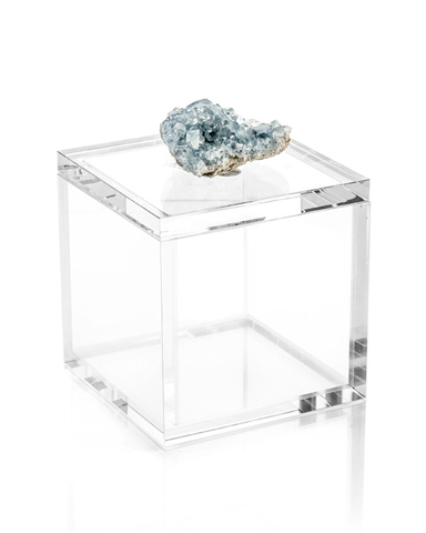 John Richard Collection - Crystal Celestite Box - JRA-10153