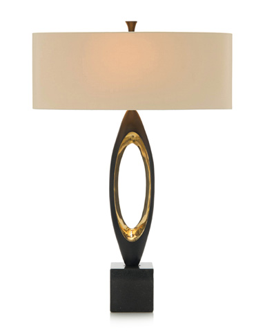 John Richard Collection - Brass Plated Table Lamp - JRL-9276