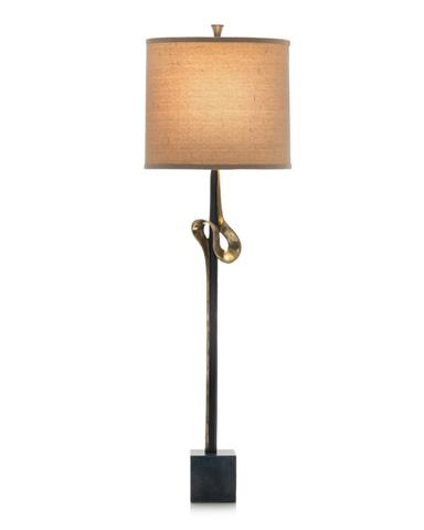 John Richard Collection - Brass Plated Console Lamp - JRL-9284