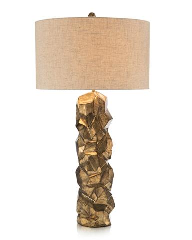 John Richard Collection - Faux Pyrite Gold Table Lamp - JRL-9288