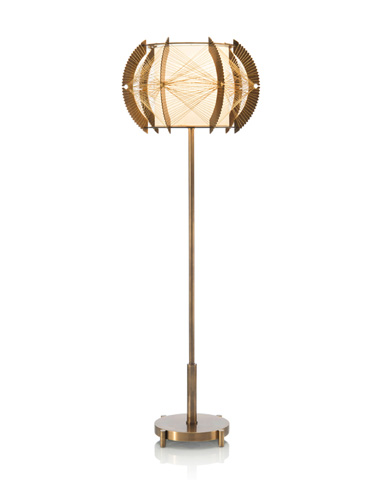 John Richard Collection - Architectural Brass Table Lamp - JRL-9290