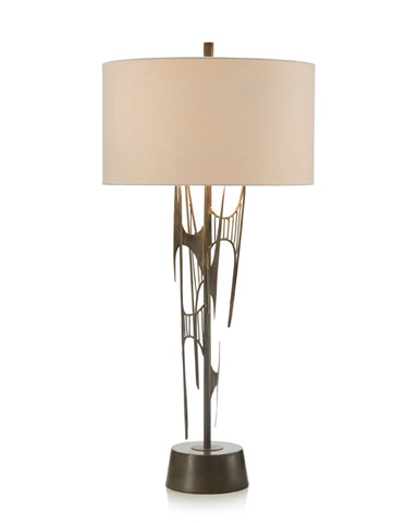 John Richard Collection - Architectural Iron Table Lamp - JRL-9292